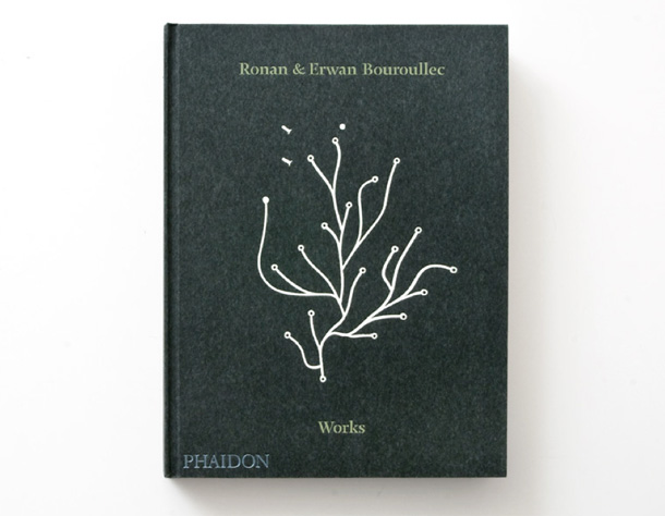 Cover from the Monograph about Ronan and Erwan Bouroullec