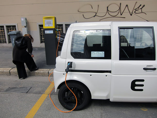 E-driving at Milan Design Week