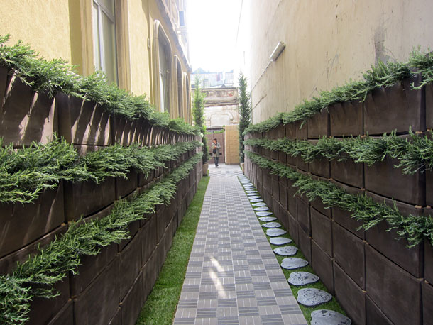 Urban gardening at Milan Design Week
