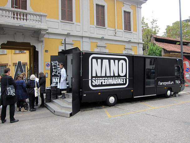 Nano Supermarket at Milan Design Week