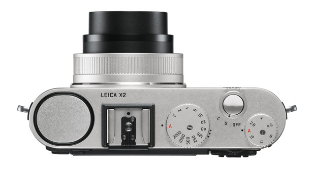 Leica X2 camera from the top