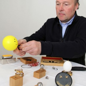 Jewellery engineer Sigurd Bronger receives Torsten and Wanja Söderberg Prize
