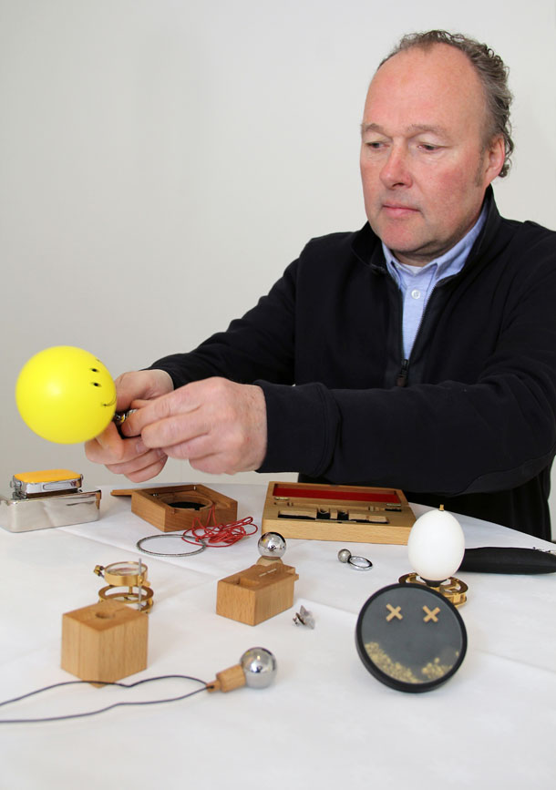 Jewellery engineer Sigurd Bronger