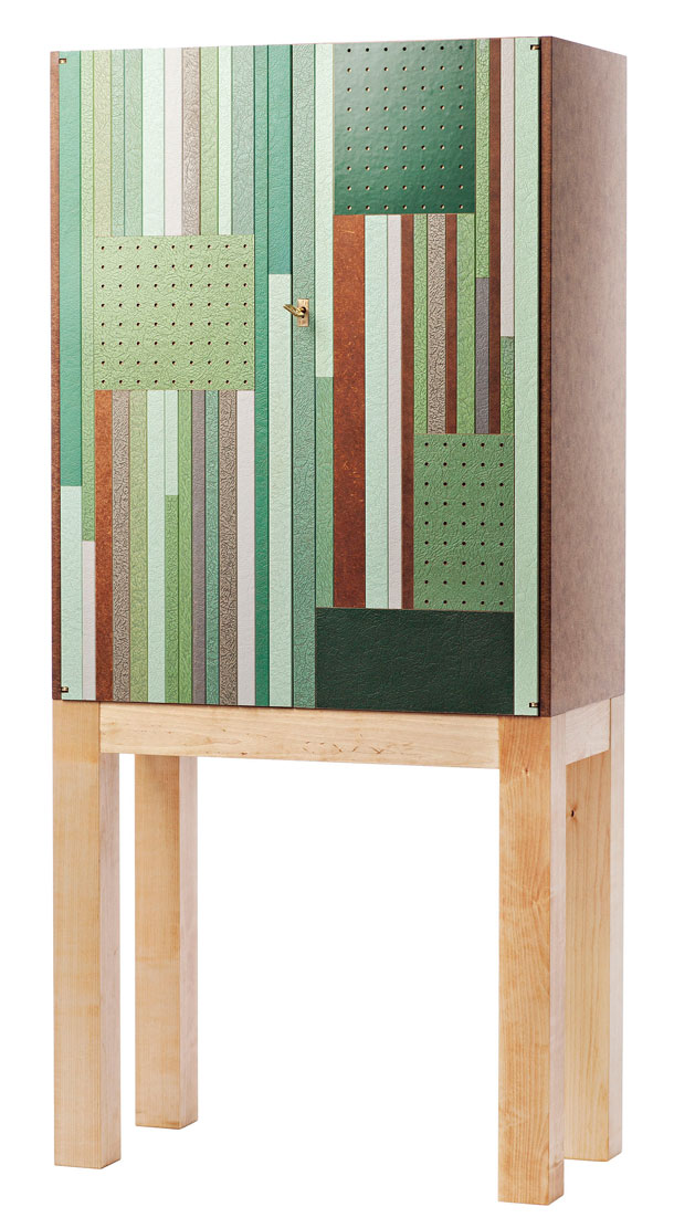 Cabinet in Masonite by Folkform at Svenskt Tenn