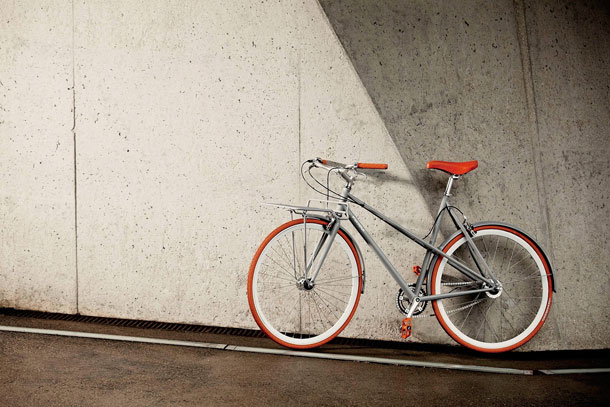 Porteur one-for-one bicycle