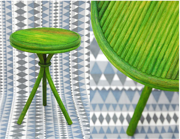 Green Kufa furniture