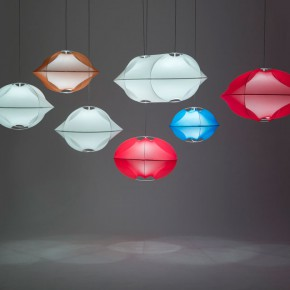 Textile lamp Tenda by Benjamin Hubert