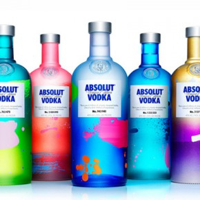 Absolut Unique - almost four million different bottles