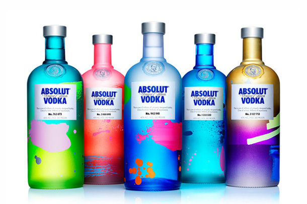 Absolut Unique - 4 million different bottles produced