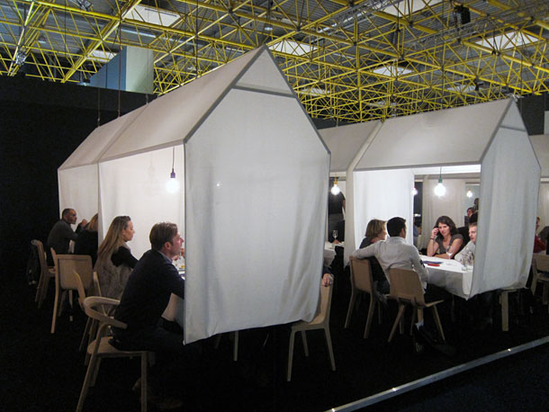 Café at Interieur Biennale in Kortrijk