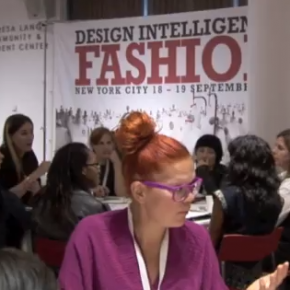 Conclusions from the Design Intelligence; FASHION event in New York