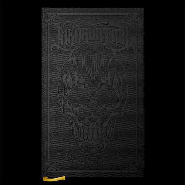 Black tattoo book