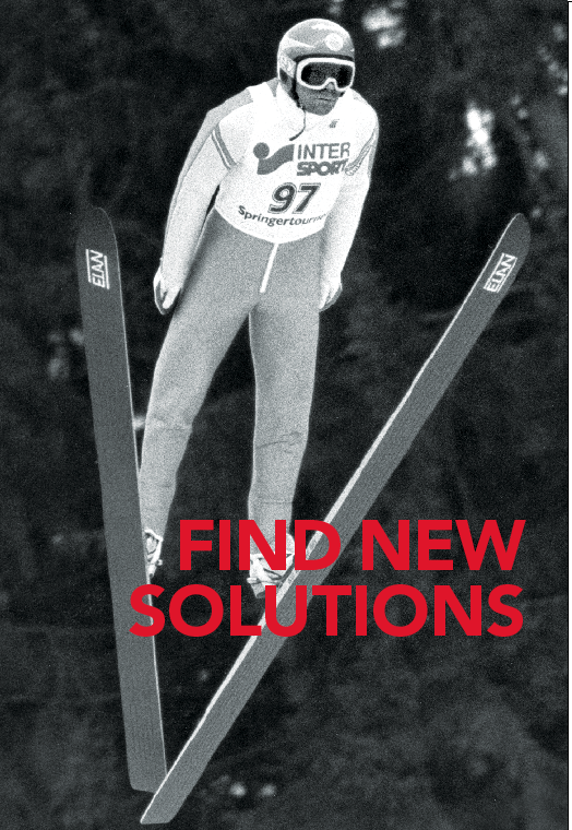 find new solutions