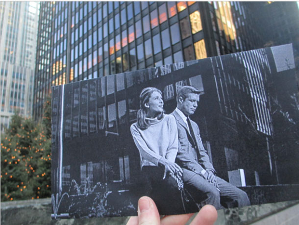 Film Photos From The Past Brought Back To Its Original Location