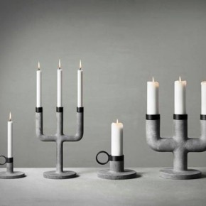 Weight Here candleholders by KiBiSi