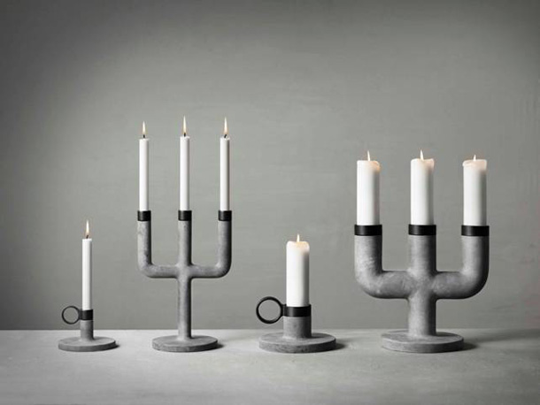 Candlesticks by KiBiSi for Menu