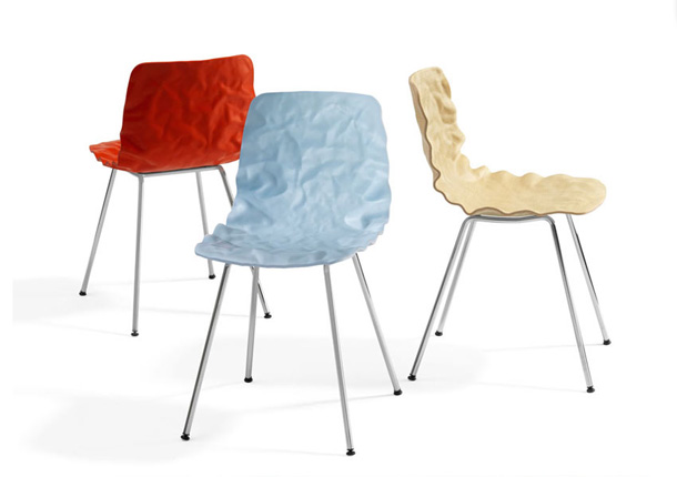 Blå Station chair called Dent designed by o4i