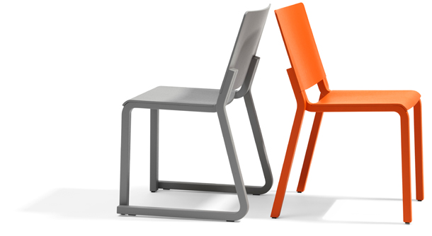 Chair and table by Thomas Bernstrand for Blå Station
