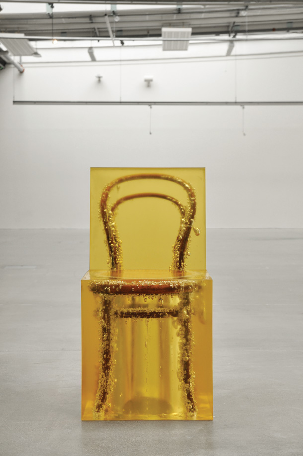 Chair in amber