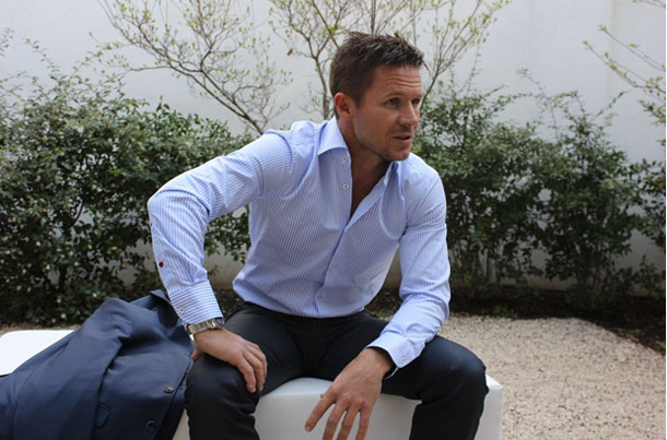 Felix Baumgartner at BaselWorld