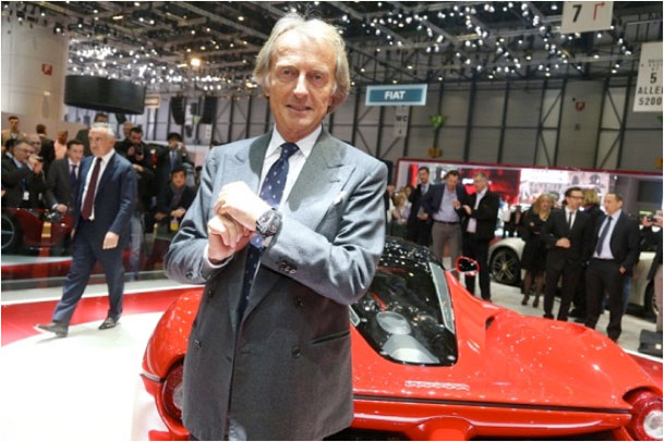 Luca Di Montezemolo at BaselWorld