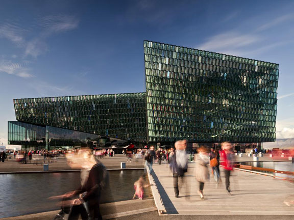 Mies van der Rohe award for Harpa