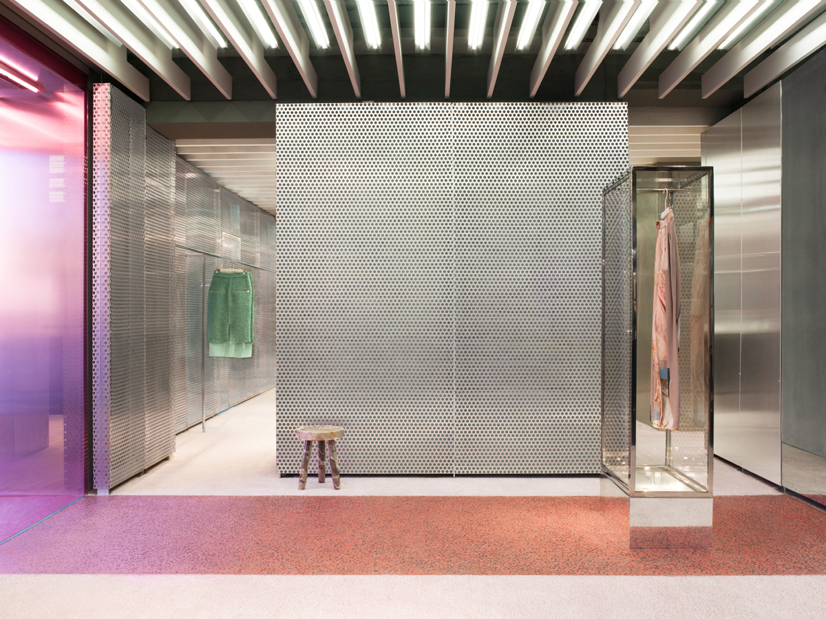 New Acne Studio In Paris By Bozarthfornell