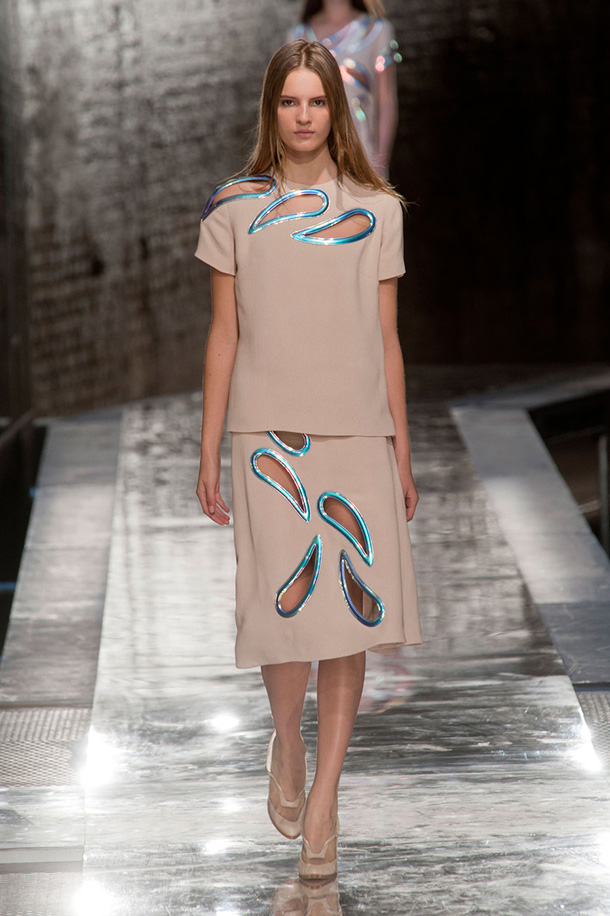 Christopher Kane fashion design 2014