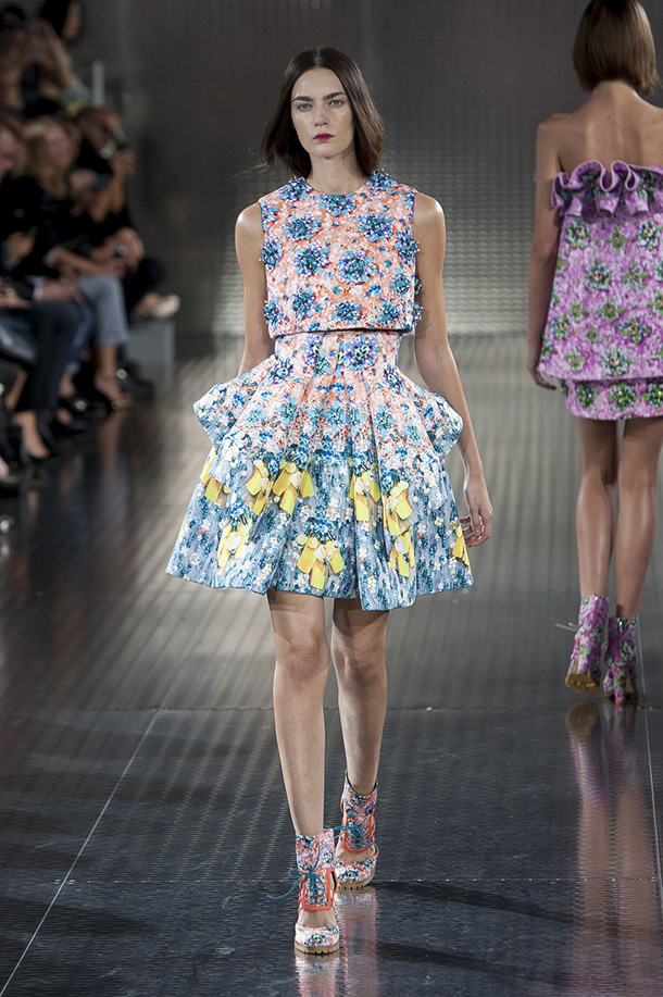 Mary Katrantzou fashion 2014