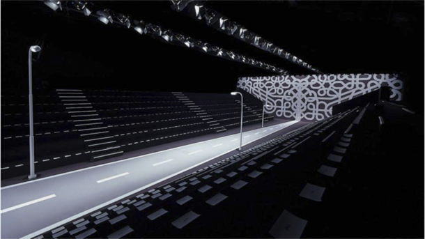 Catwalk designed by Studio Job