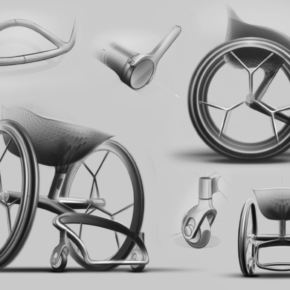 World's first 3D-printed consumer wheelchair by Benjamin Hubert