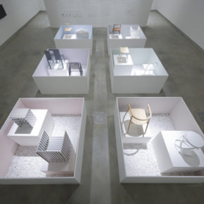 First retrospective exhibition by nendo called The Space in Between