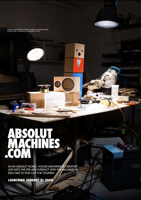 Absolut machines ad