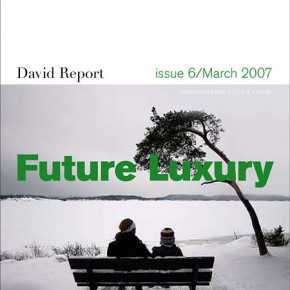 Bulletin announcement-new issue called Future Luxury