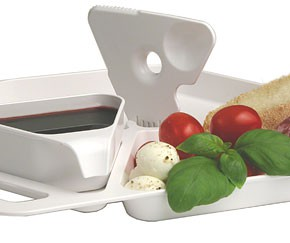 Tools for table-less eating