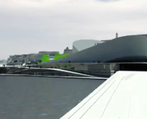 Animation of Slussen by BIG and NOD