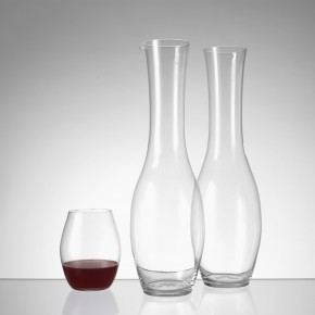 Pour carafe and glass