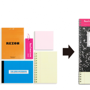 Six notebooks in one