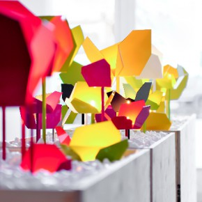 Coquelicot candle holders by Matti Klenell