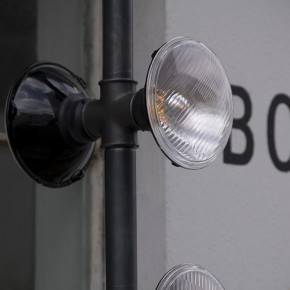 Temporary installation Streetlights by .PSLAB