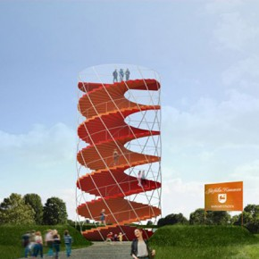 Tham & Videgård wins competition for a new landmark and observation tower