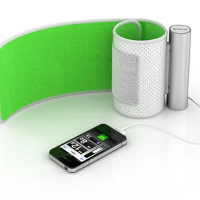 iPhone, iPad or iPod touch as a blood pressure tracker