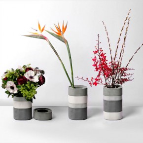 Vase inspired by the Japanese bento box