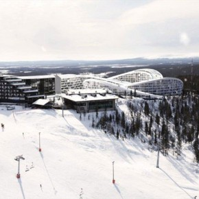 Ski Resort in Finland by Bjarke Ingels' BIG