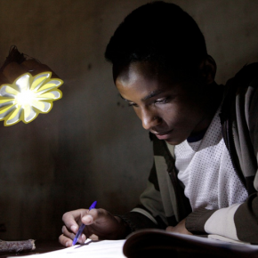 Little Sun° - the Sustainable, Affordable & Solar-powered LED lantern
