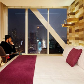 Signature suites by Lagranja Design at the Madera hotel in Hong Kong