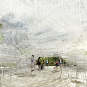 The Serpentine Gallery Pavilion 2013 by Sou Fujimoto