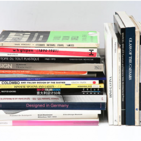 The Library of Design at the Jasper Morrison shop