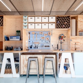 Absolut Creative Space – a sustainable pop-up studio