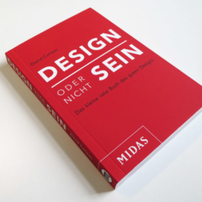 German edition of the book Make Design Matter by David Carlson